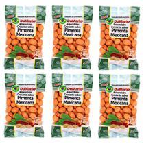 Kit 6 Pacotes Amendoim Crocante Sabor Pimenta Mexicana 50 gramas - Amendoim dumario