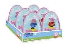 Kit 6 Peppa Pig - Ovo Big Toy - DTC