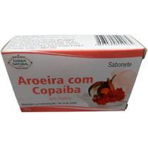 Kit 6 Sabonetes em Barra Aroeira com Copaíba 90g - Lianda Natural