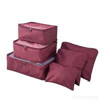 Kit 6 Sacos Bolsas Organizador Mala Roupas Bagagem Viagem - K Online