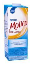 Kit 6 Unidades Leite Desnatado Molico Zero Lactose 1 Litro -