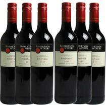 Kit 6 Vinho Tinto Sul-Africano Robertson Pinotage 2018 - Mistral
