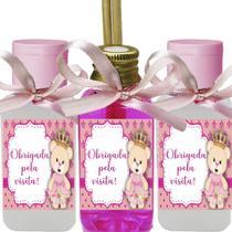 Kit 60 Lembrancinhas Tema Ursinha Princesa - Aniversário Chá - Clickstock