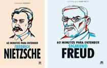 kit 60 Minutos Para Entender Sigmund Freud/60 Minutos Para Entender Friedrich Nietzsche - Astral Cultural