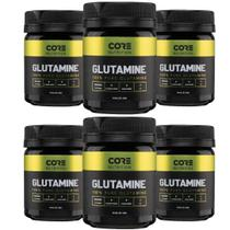Kit 6x Glutamine 100% Pure 100g - Core Nutrition -