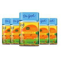 Kit 6x Vitamina C Kids Dr Good gomas sabor Laranja c/ 60 -