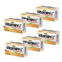 Kit 6X Vitaminaz Polivitamínico 60 cápsulas  Sunflower -
