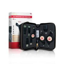 Kit 7 Adaptadores Cabo USB AxB e Rede Retratil Encore ENCA-CTP Encore -