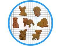 Kit 7 Cortadores de Biscoito Raças Cachorros Pasta Americana - ARTBOX3D