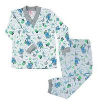 Kit 7 Pijama Infantil Menino Bebê Estampado Frio Algodão - Jn
