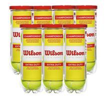 Kit 7 Tubos de Bolas de Tênis Championship - Wilson -