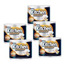 Kit 700 Toalhas Folha Tripla Kitchen Total Absorv -