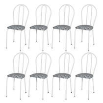 Kit 8 Cadeiras para cozinha 004 - Artefamol -