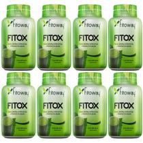 Kit 8 Detox Fitox (60 cápsulas cada) Fitoway -