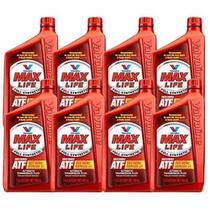 Kit 8 oleo cambio transmissao automatica maxlife atf sintetico valvoline mercon dexron 946 ml cada - kit00307 -