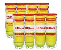 Kit 8 Tubos de Bolas de Tênis Championship - Wilson -