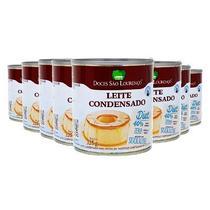 Kit 8 und Leite Condensado Diet SÃO LOURENÇO 335g -