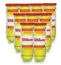Kit 9 Tubos de Bolas de Tênis Championship - Wilson -