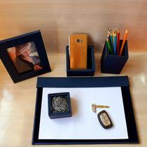Kit a4 premium de mesa risque rabisque escritório apparatos -