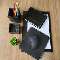 Kit a4 premium de mesa risque rabisque escritório - preto - Apparatos