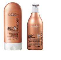 Kit Absolut Repair Pós-Química Loreal Shampoo 500ml + Condicionador 150ml