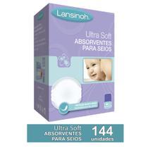 Kit ABSORVENTE DE SEIOS ULTRASOFT LANSINOH 144 unidades -