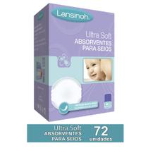 Kit ABSORVENTE DE SEIOS ULTRASOFT LANSINOH 72 unidades -