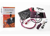 Kit Academico Esfigmomanometro + Estetoscopio + Garrote + Oculos Cor Vinho - PAMED