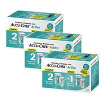 Kit Accu-chek Active Combo Economico 450 Testes - Roche