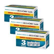 Kit Accu-chek Guide Combo Economico 450 Testes - Roche