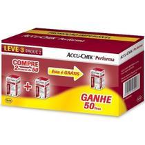 Kit Accu-Chek Performa 3 Caixas com 50 Tiras Cada - Roche