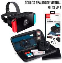 Kit Acessórios 13 Em 1 Nintendo Switch + Óculos Realidade Virtual - Oivo