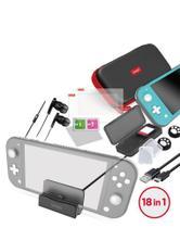 Kit Acessórios 18 em 1 Para N-Switch Lite Ípega Super Pack -