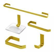 Kit Acessórios Para Banheiro Athena Em Vergalhão - Bruno Acabamentos