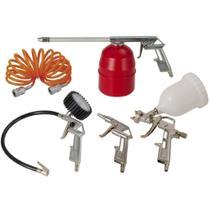 Kit acessórios para compressor de ar com 5 peças  - 809.1039-0 - Schulz -