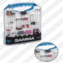 Kit Acessórios Para Mini Micro Retifica Profissional Com 180 Peças - Gamma