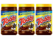 Kit Achocolatado em Pó Chocolate Toddy Original - 800g 3 Unidades