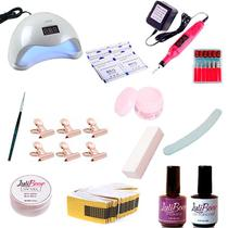 Kit Acrigel Unha + Cabine + Presilhas + removedor - Luliboop