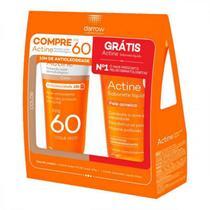 Kit Actine Protetor Solar  Fps 60 E Sabonete Liquido 60Ml - Darrow