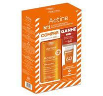Kit Actine Sabonete Líquido 400ml + Protetor Solar Fps60 20g - Darrow -