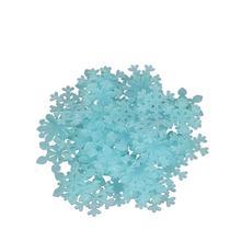 Kit Adesivo Floco Fluorescente Azul - Import