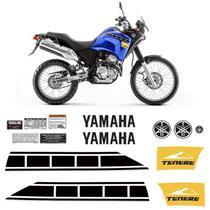 Kit Adesivo Tenere 250 2012/2013 Moto Yamaha Emblemas Tanque - Sportinox