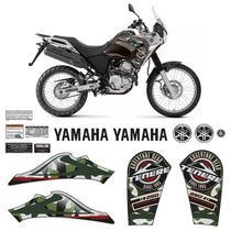 Kit Adesivo Tenere 250 2018/2019 Moto Yamaha Emblemas Tanque - Sportinox