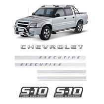 Kit Adesivos Faixas S10 Executive Chevrolet Turbo Eletronic - SPORTINOX