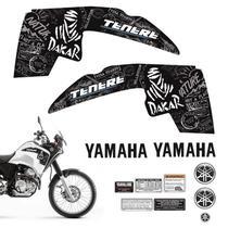 Kit Adesivos Tenere 250 2013 Moto Yamaha Emblemas Tanque - Sportinox