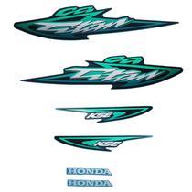 Kit Adesivos Titan 125 2003 ES Verde - Jotaesse