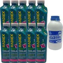 Kit aditivo radiador ps2g + limpador radiador - focus 2013 a 2018 - kit01023 - RADIEX