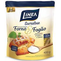 Kit Adoçante Culinário Sucralose Linea 400g Forno e Fogão 10 Unidades -