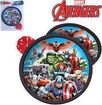 Kit Agarra e Lança Avengers Alvo 18cm Bola 6cm - 130676 - Etilux
