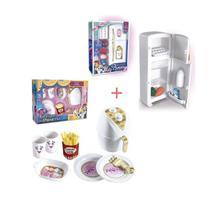 Kit air fryer da princesa com geladeira duplex da princesa -